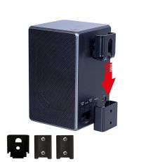 Vebos portable vaegbeslag Sony SRS-ZR5 sort
