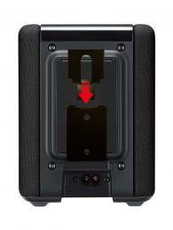 Vebos portable vaegbeslag Yamaha Musiccast WX 010 sort